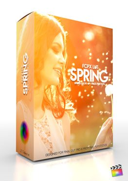 Final Cut Pro X Plugin FCPX LUT Spring from Pixel Film Studios