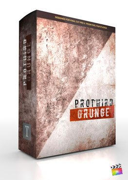 Final Cut Pro X Plugin Pro3rd Grunge from Pixel Film Studios