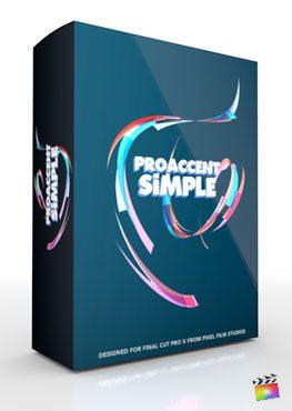 Final Cut Pro X Plugin ProAccent Simple from Pixel Film Studios
