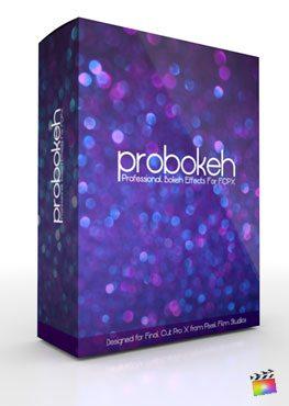 Final Cut Pro X Plugin ProBokeh Volume 1