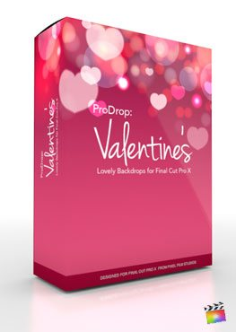 Final Cut Pro X Plugin ProDrop Valentines from Pixel Film Studios