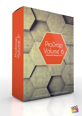 Final Cut Pro X Plugin ProDrop Volume 6 from Pixel Film Studios