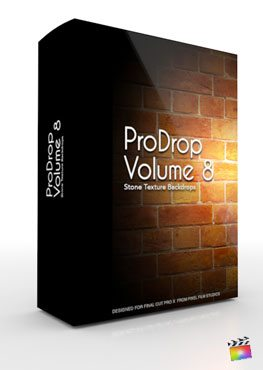 Final Cut Pro X Plugin ProDrop Volume 8 from Pixel Film Studios