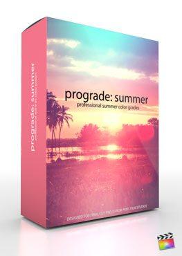 Final Cut Pro X plugin ProGrade Summer from Pixel Film Studios