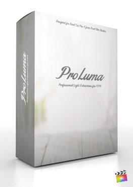 Final Cut Pro X Plugin ProLuma from Pixel Film Studios