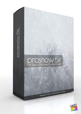 Final Cut Pro X Plugin ProSnow 5K from Pixel Film Studios