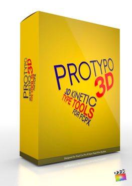 Final Cut Pro X Plugin ProTypo 3D from Pixel Film Studios