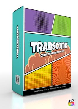 Final Cut Pro X Plugin TransComic from Pixel Film Studios
