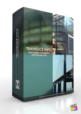 Final Cut Pro X Plugin TranSlice Info from Pixel Film Studios