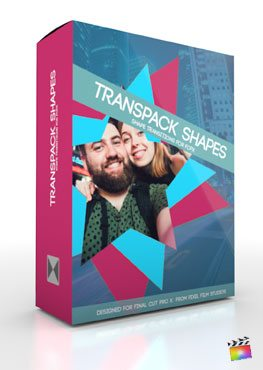 Final Cut Pro X Plugin TransPack Shapes from Pixel Film Studios