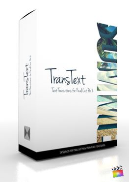 Final Cut Pro X Plugin TransText from Pixel Film Studios