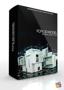 Final Cut Pro X Plugin FCPX 3D Model from Pixel Film Studios