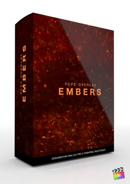 Final Cut Pro X Plugin FCPX Overlay Embers from Pixel Film Studios