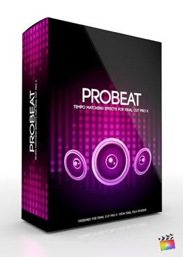 Final Cut Pro X Plugin ProBeat from Pixel Film Studios