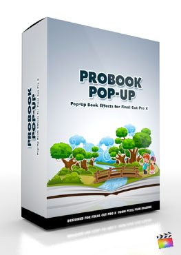 Final Cut Pro X Plugin ProBook Pop Up from Pixel Film Studios