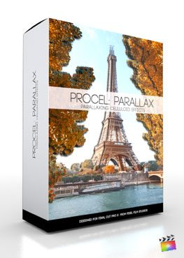 Final Cut Pro X Plugin ProCel Parallax from Pixel Film Studios