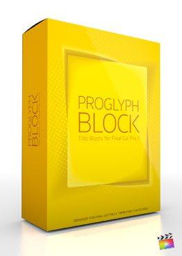 Final Cut Pro X Plugin ProGlyph Block from Pixel Film Studios