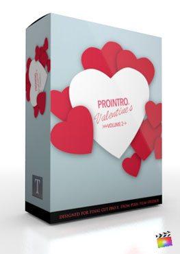 Final Cut Pro X Plugin ProIntro Valentines Volume 2 from Pixel Film Studios