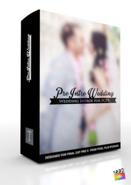 Final Cut Pro X Plugin ProIntro Wedding from Pixel Film Studios