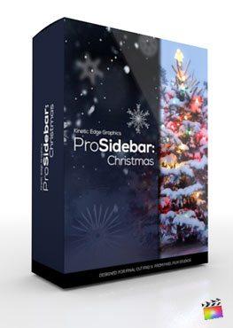 Final Cut Pro X Plugin ProSidebar Christmas from Pixel Film Studios