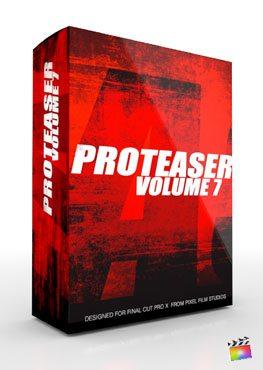 Final Cut Pro X Plugin Proteaser Volume 7 from Pixel Film Studios