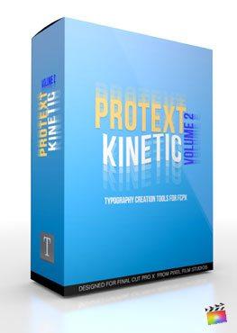 Final Cut Pro X Plugin ProText Kinetic Volume 2 from Pixel Film Studios