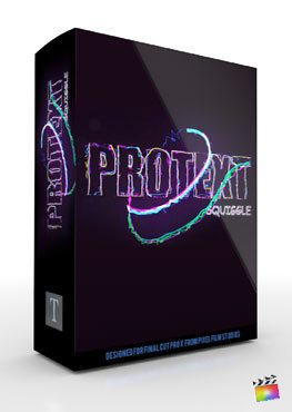 Final Cut Pro X Plugin ProText Squiggle from Pixel Film Studios