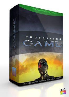 Final Cut Pro X Plugin ProTrailer Game from Pixel Film Studios