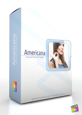 Final Cut Pro X Plugin Production Package Americana from Pixel Film Studios