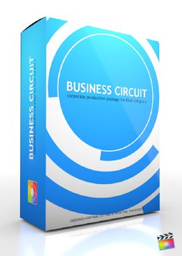 Final Cut Pro X Plugin Production Package Business Circuit from Pixel Film Studios