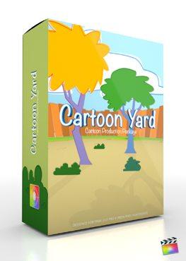 Final Cut Pro X Plugin Production Package Cartoon Yard from Pixel Film Studios