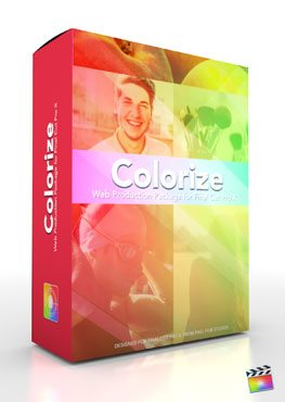 Final Cut Pro X Plugin Production Package Theme Colorize from Pixel Film Studios