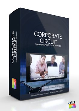 Final Cut Pro X Plugin Production Corporate Circuit from Pixel Film Studios