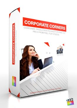 Final Cut Pro X Plugin Production Package Corporate Corners from Pixel Film Studios