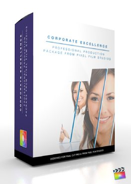 Final Cut Pro X Plugin Production Package Corporate Excellence from Pixel Film Studios