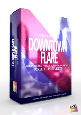 Final Cut Pro X Plugin Production Package Theme Downtown Flare from Pixel Film Studios