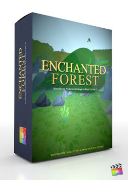 Final Cut Pro X Plugin Production Package Theme Enchanted Forest from Pixel Film Studios