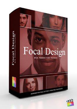 Final Cut Pro X Plugin Production Package Theme Focal Design from Pixel Film Studios