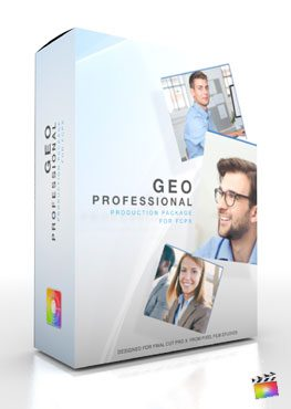 Final Cut Pro X Plugin Production Package Theme Geo Professional from Pixel Film Studios