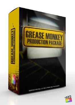 Final Cut Pro X Plugin Production Package Grease Monkey from Pixel Film Studios