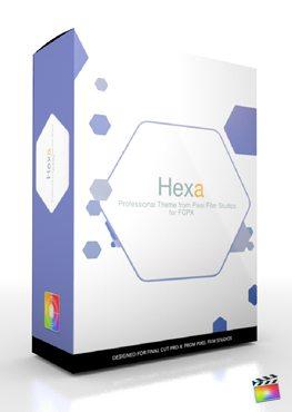 Final Cut Pro X Plugin Production Package Hexa from Pixel Film Studios