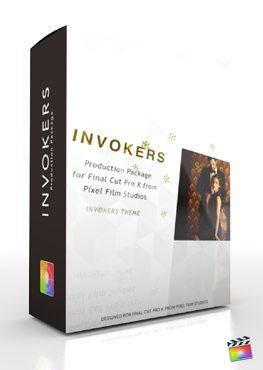 Final Cut Pro X Plugin Production Package Invokers from Pixel Film Studios