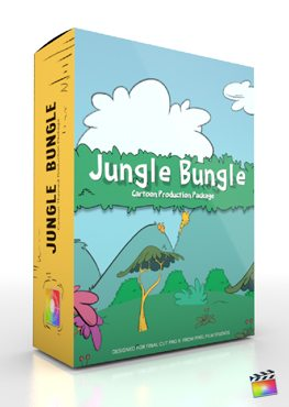 Final Cut Pro X Plugin Production Package Jungle Bungle from Pixel Film Studios