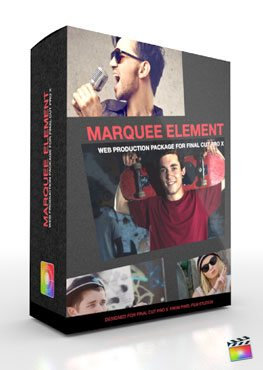 Final Cut Pro X Plugin Production Package Theme Marquee Element from Pixel Film Studios