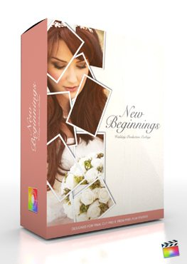 Final Cut Pro X Plugin Production Package Theme New Beginning from Pixel Film Studios