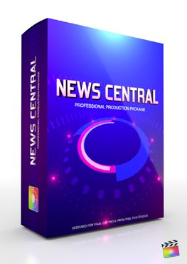 Final Cut Pro X Plugin Production Package News Central from Pixel Film Studios