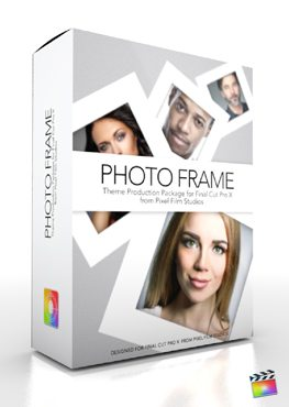 Final Cut Pro X Plugin Production Package Theme Photo Frame from Pixel Film Studios