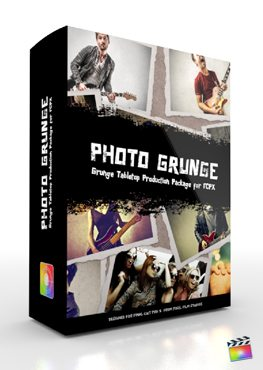 Final Cut Pro X Plugin Production Package Theme Photo Grunge from Pixel Film Studios