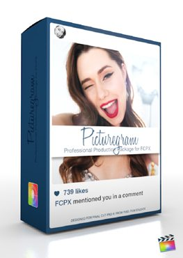 Final Cut Pro X Plugin Production Package Picturegram from Pixel Film Studios