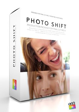 Final Cut Pro X Plugin Production Package Photo Shift from Pixel Film Studios